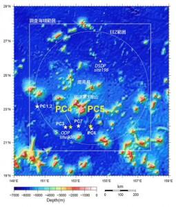 南鳥島周辺における超高濃度レアアース泥の発見とその分布概要
