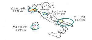 三菱商事,イタリアで最大級の太陽光発電事業に参入