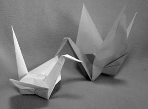 図1 折鶴