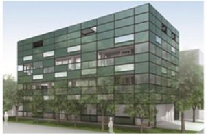 三菱化学と大成建設,有機薄膜太陽電池による建物外壁発電の実証実験を開始