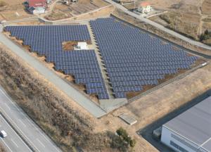 F明野太陽光発電所