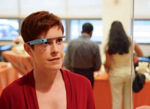 Google Glass (photo by tedeytan)