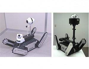 千葉工大と日南の原発災害ロボット,原子力緊急事態支援センターに導入
