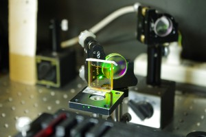 開発した液体光学素子