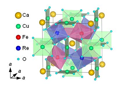 京大ら,超高密度磁気メモリなどへの応用が期待されるハーフメタル新材料の合成に成功