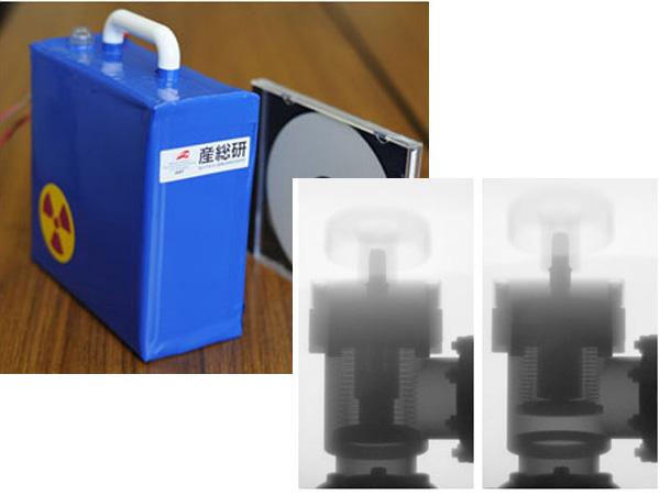産総研ら,小型軽量な非破壊検査用パルスX線源を開発