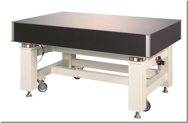駿河精機,国内最高峰の防振機能を備えた除振台を発売
