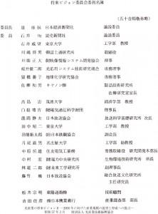 委員会の名簿