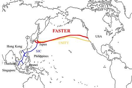 NEC,日米を結ぶ太平洋横断型光海底ケーブル「FASTER」を受注