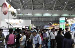 台湾LED照明展/植物工場展2014─台湾企業,日本企業と中国企業の間で