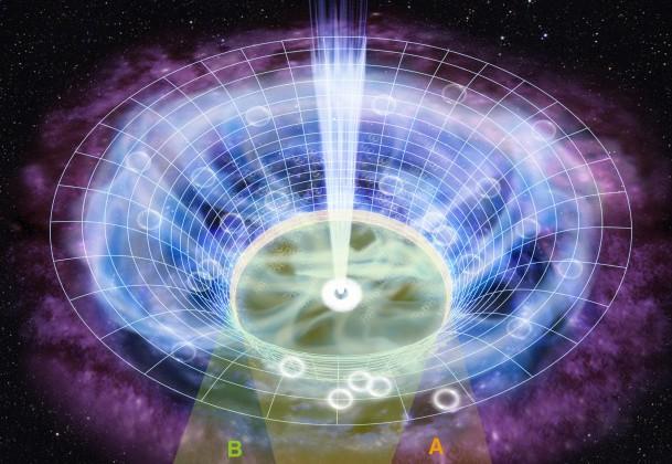 信州大ら,100億光年彼方にあるガス構造の立体視に成功