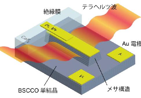 京大,超伝導テラヘルツ光源における温度分布の可視化と制御に成功