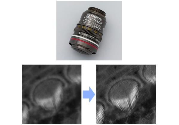 オリンパス,共焦点レーザ走査型顕微鏡用シリコーン浸対物レンズなどを発売