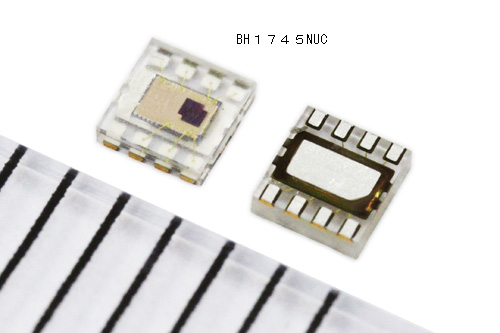 ローム,スマートフォン向け新型照度センサを2015年4月から量産へ