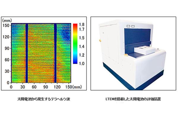 SCREENら,テラヘルツを用いた太陽電池評価システムを開発
