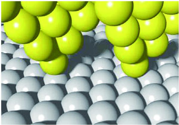 東大,原子の「真上」と「間」で電気抵抗が異なることを発見