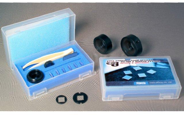 8 mm角の光学フィルタ・ミラーシ ステムを開発─東海光学が試作市場 で提案へ