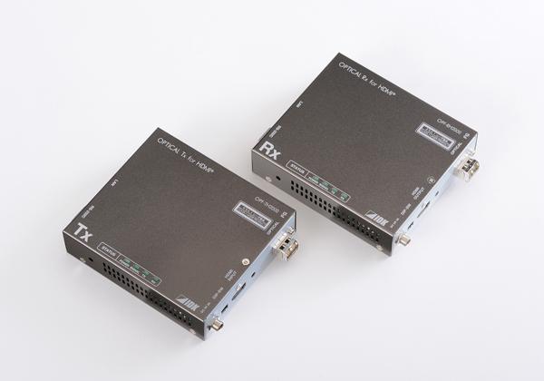 アイ・ディ・ケイ,4K@60対応HDMI光ファイバ延長器を発売