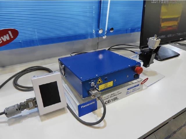 開発した青色半導体レーザーを採用した接合用レーザー
