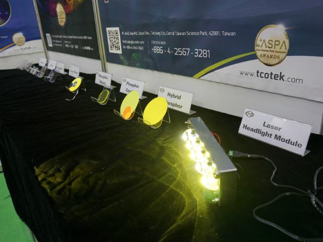 【OPTO TAIWAN】レーザー用蛍光体大手の台灣彩光科技