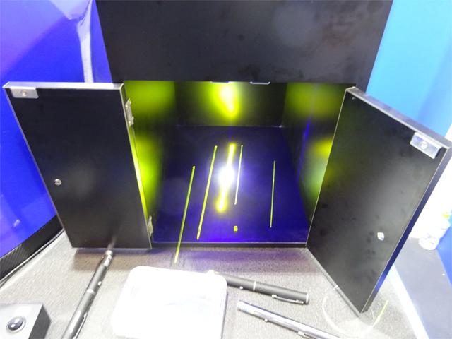 【CEATEC2018】TDK,任意の形状を得られる単結晶蛍光体を開発