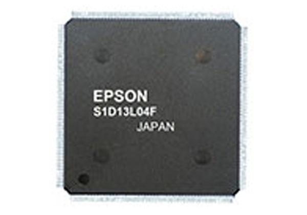 セイコーエプソン,高解像度カラーTFTコントローラーIC発売