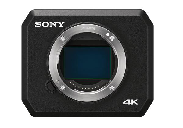 ソニー,高感度業務用4Kカメラを発売