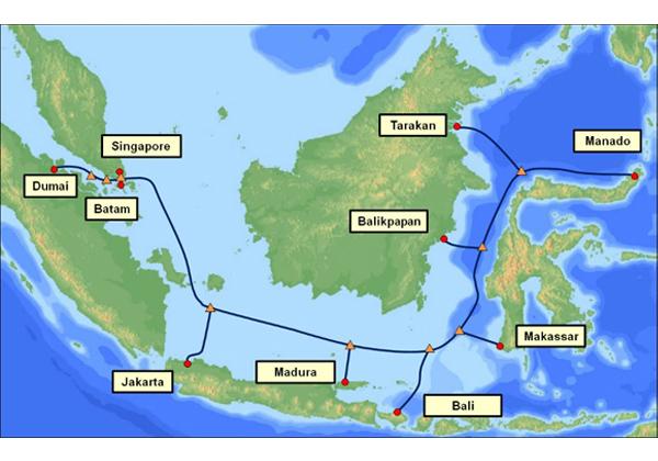 NEC,インドネシア海底ケーブルを受注