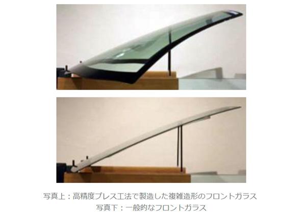 日板,光学特性の高い自動車フロントガラスを増産