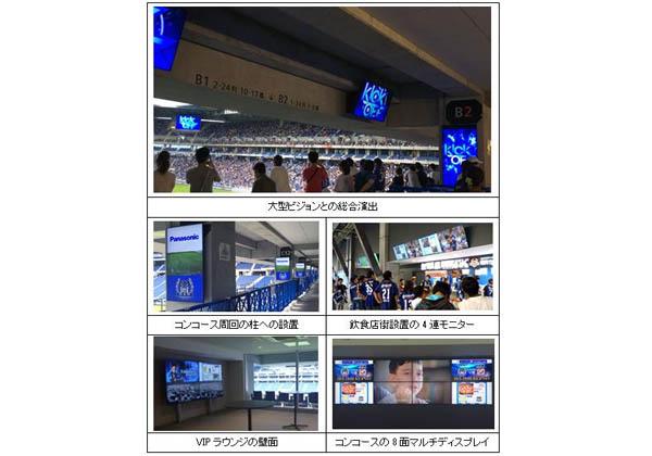 パナ,スタジアムでディスプレーによる広告収益モデルの実証実験