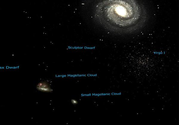 国立天文台ら,極めて暗い銀河系の衛星銀河を発見