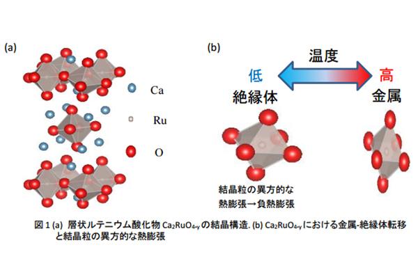 名大ら,最大の収縮量を有する負熱膨張材料を発見