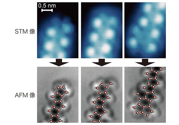 東大,AFMで水分子ネットワークを可視化