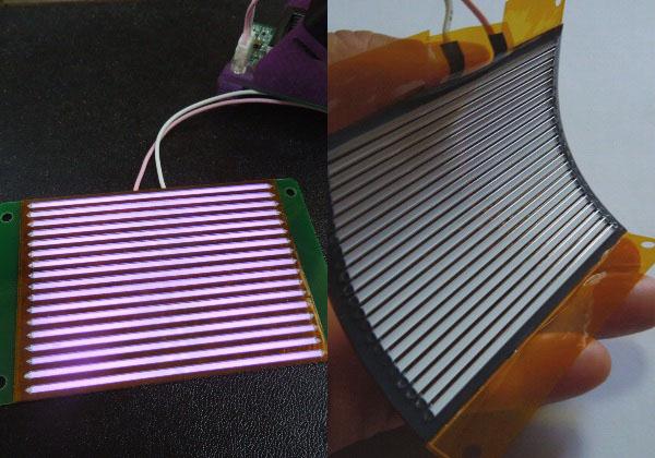 【OPIE'17】紫光技研ら,水銀フリー紫外線面光源を出展