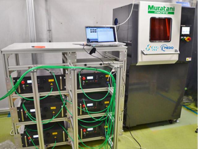 OPIE'17,400W級レーザーコーティング装置を展示