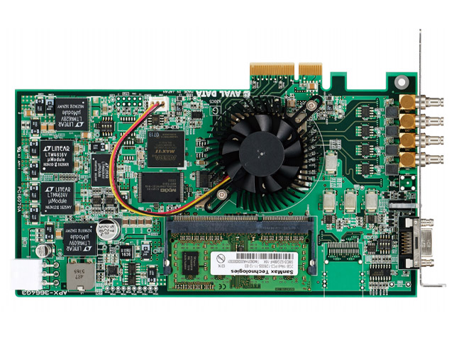 アバールデータ,MV向けCoaXPressI/F画像入力ボードを発売