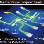 有機薄膜光集積回路の画像