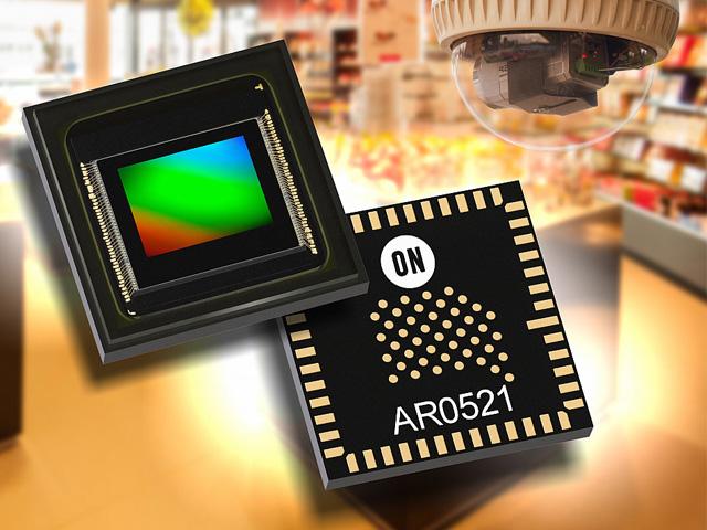 オンセミ,監視カメラ向け5Mセンサーを発売