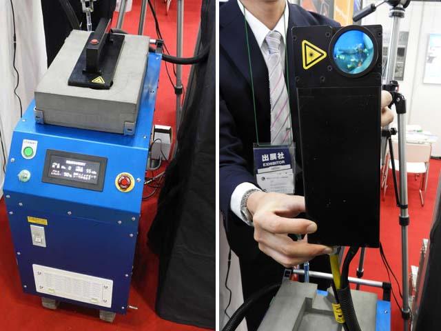 東成エレクトロビーム,レーザークリーニング装置を実用展開