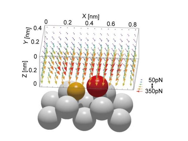 阪大,固体表面の力分布をベクトル量として計測