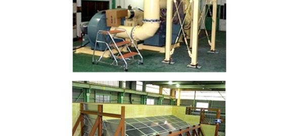 NEDOら,太陽電池の耐風圧実験開始