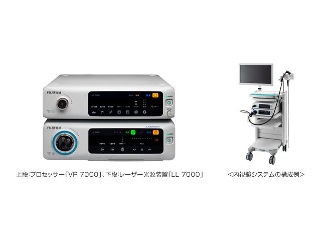 富士フイルム,レーザー光源内視鏡の新製品を発売