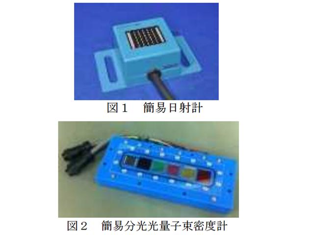 技科大,高精度簡易日射計の開発に成功