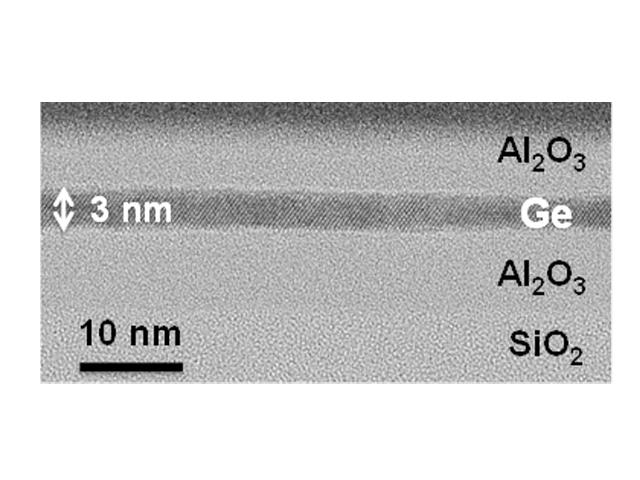 産総研,Ge超薄膜で電子移動度の向上を確認