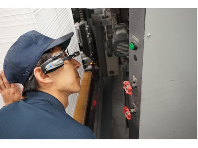 NTTグループら,スマートグラスによる遠隔作業支援を検証