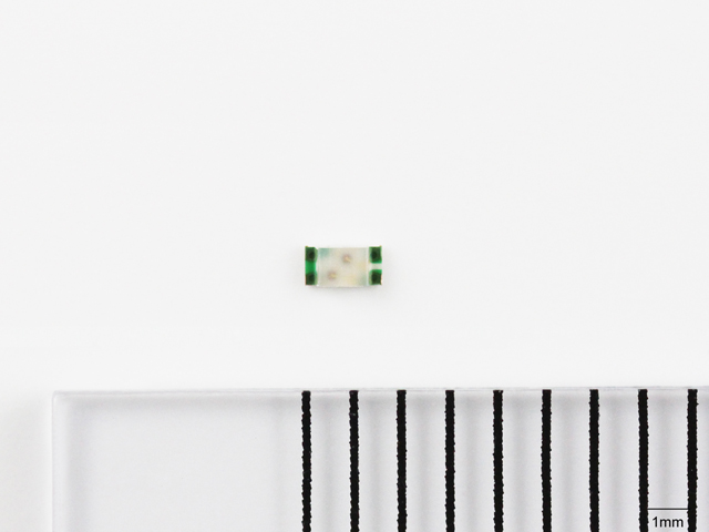 ローム,小型・低背2色チップLEDを発売