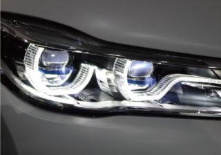 BMW 7シリーズのレーザーヘッドランプ