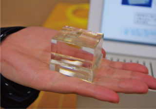 KTNの大型結晶