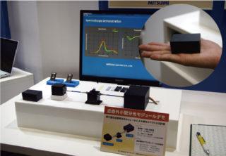 医療機器市場を狙う近赤外線LED分光装置