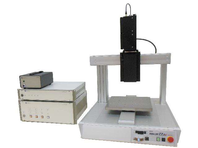 光コム三次元形状測定器に寸法解析ソフトウェアを搭載し,高速測定を実現